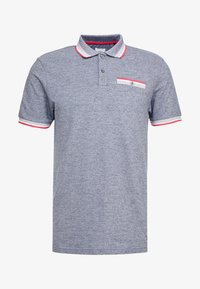 Burton Menswear London - BIRDSEYE HIGHLIGHT - Poloshirt - navy - 4