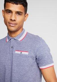 Burton Menswear London - BIRDSEYE HIGHLIGHT - Poloshirt - navy - 5
