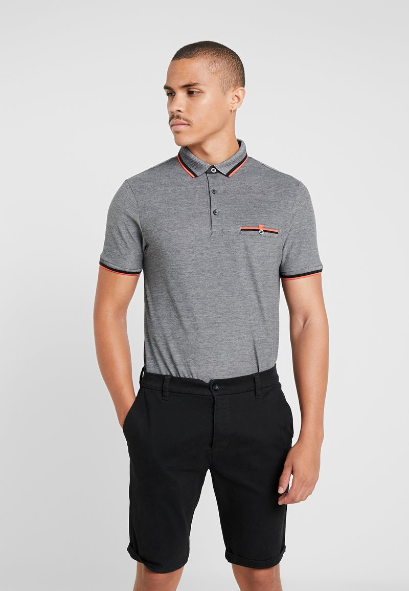 Burton Menswear London - CHAR TIP  - Poloshirts - grey