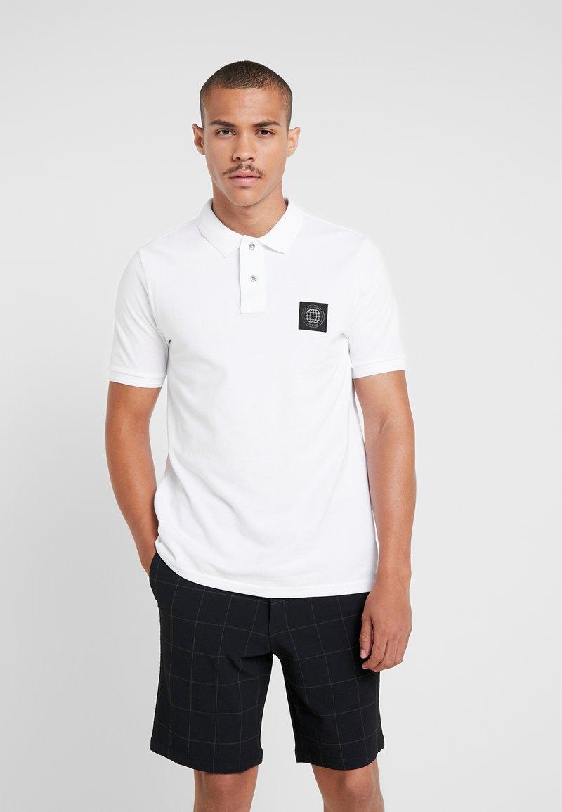 Burton Menswear London - STADIUM WAFFLE BADGE - Polo shirt - white