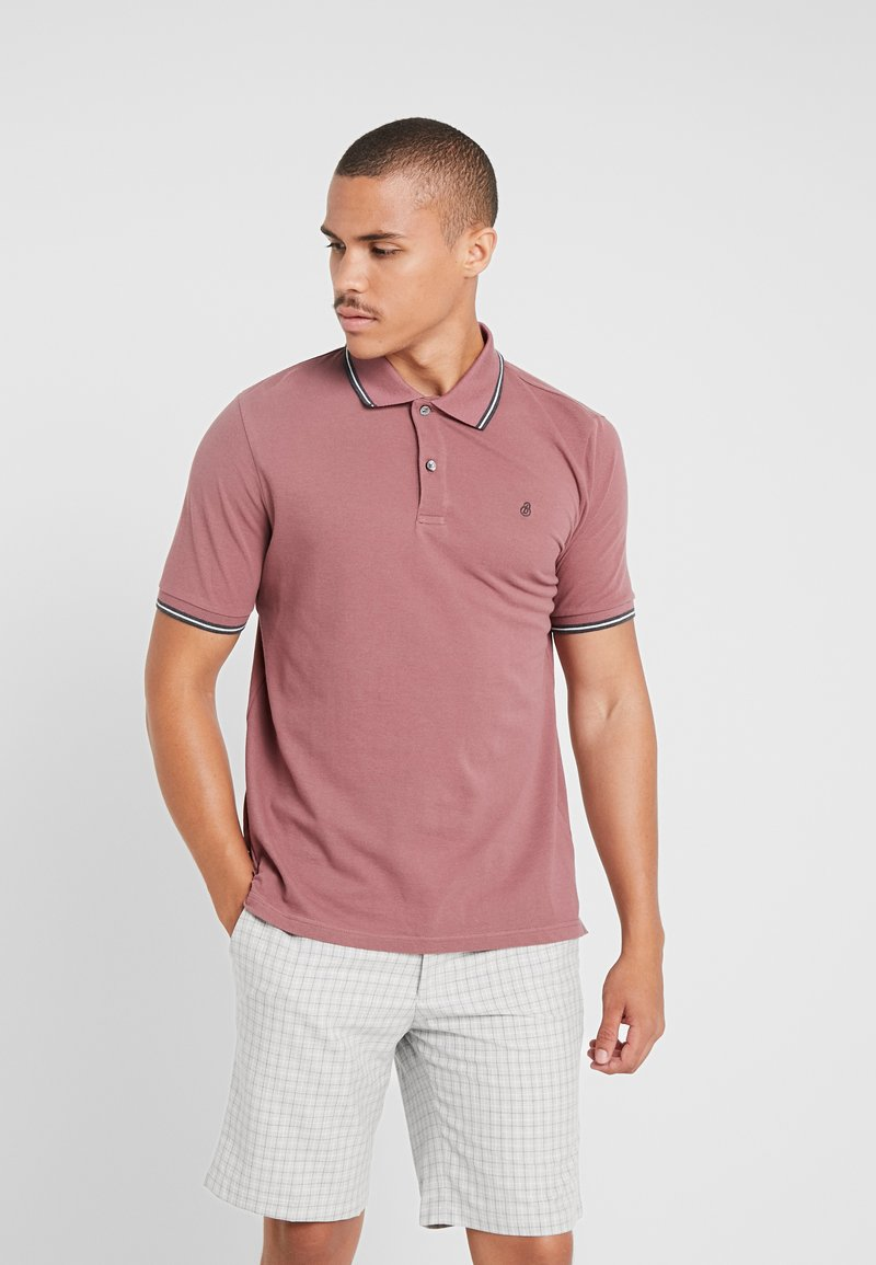 Burton Menswear London - BERRY - Polo - pink