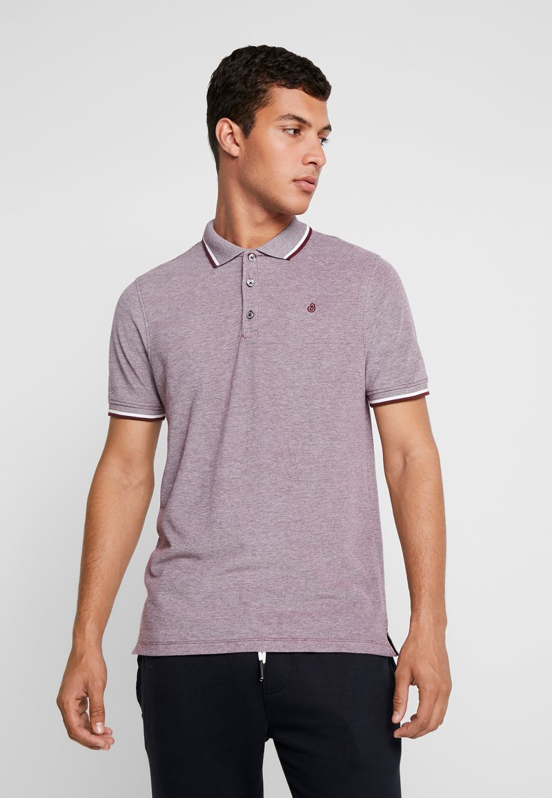 Burton Menswear London - 2TONE NEW - Poloshirt - burgundy