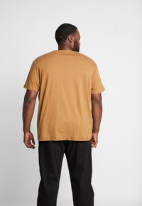 Burton Menswear London - CARA TEE  - Triko s potiskem - brown - 2