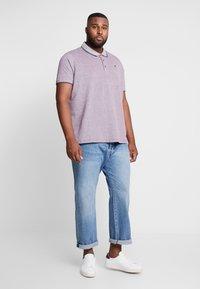 Burton Menswear London - BURG TONE  - Poloskjorter - burgundy - 1