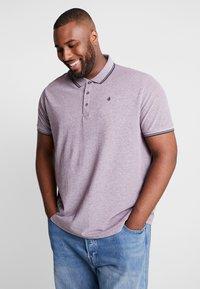 Burton Menswear London - BURG TONE  - Poloskjorter - burgundy - 0