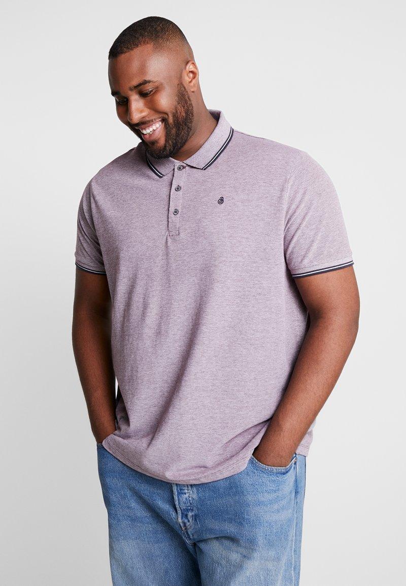 Burton Menswear London - BURG TONE  - Poloskjorter - burgundy