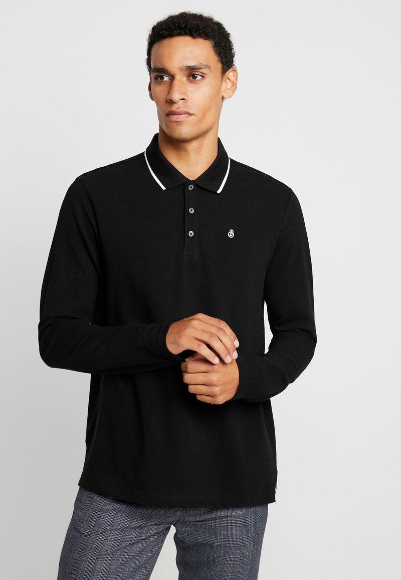 Burton Menswear London - POP COLLAR - Polo shirt - black