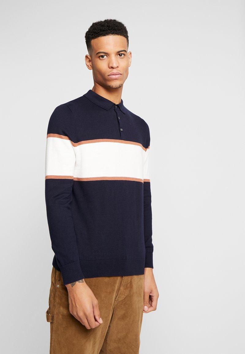 Burton Menswear London - BERNERS - Jumper - navy