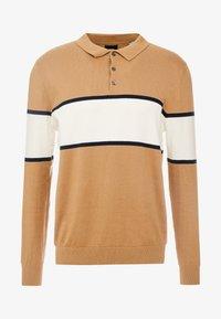 Burton Menswear London - BERNERS POLO - Svetr - natural - 3