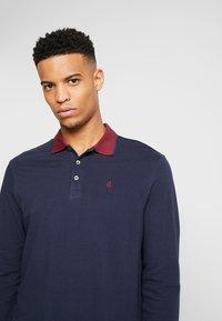 Burton Menswear London - POP COLLAR - Polo - navy - 3