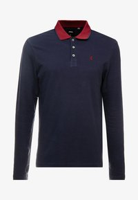Burton Menswear London - POP COLLAR - Polo - navy - 4