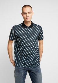 Burton Menswear London - DIAG - Polotričko - black - 0