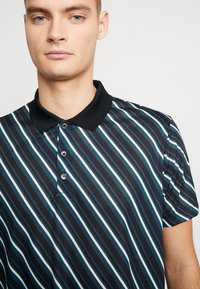 Burton Menswear London - DIAG - Polotričko - black - 4