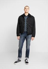 Burton Menswear London - DIAG - Polotričko - black - 1