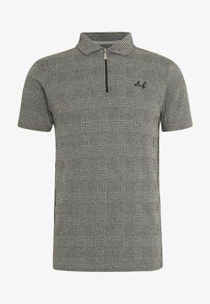 CHECK POLO - Poloskjorter - grey