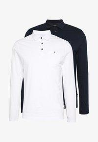 Burton Menswear London - 2 PACK - Poloskjorter - navy - 3