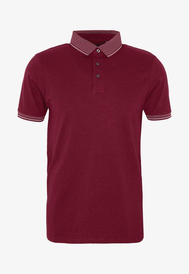 Polo shirt - burgundy