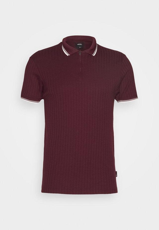 TIP - Poloshirt - burgundy
