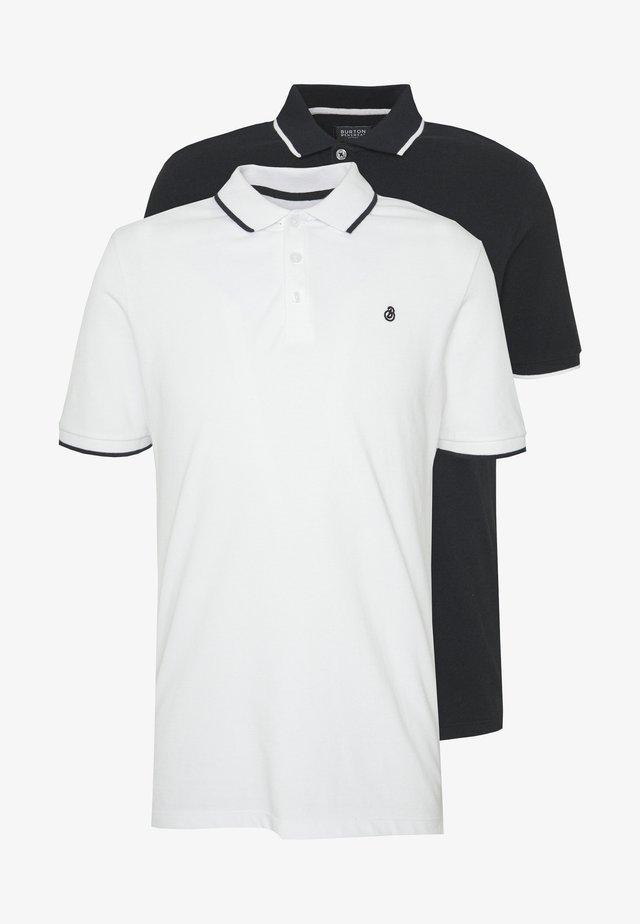 TIPPED 2 PACK  - Poloshirt - white