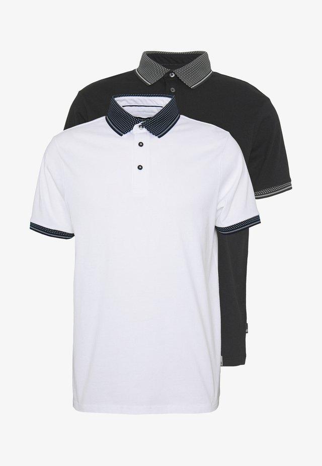 SHORT SLEEVE 2 PACK - Poloshirt - white