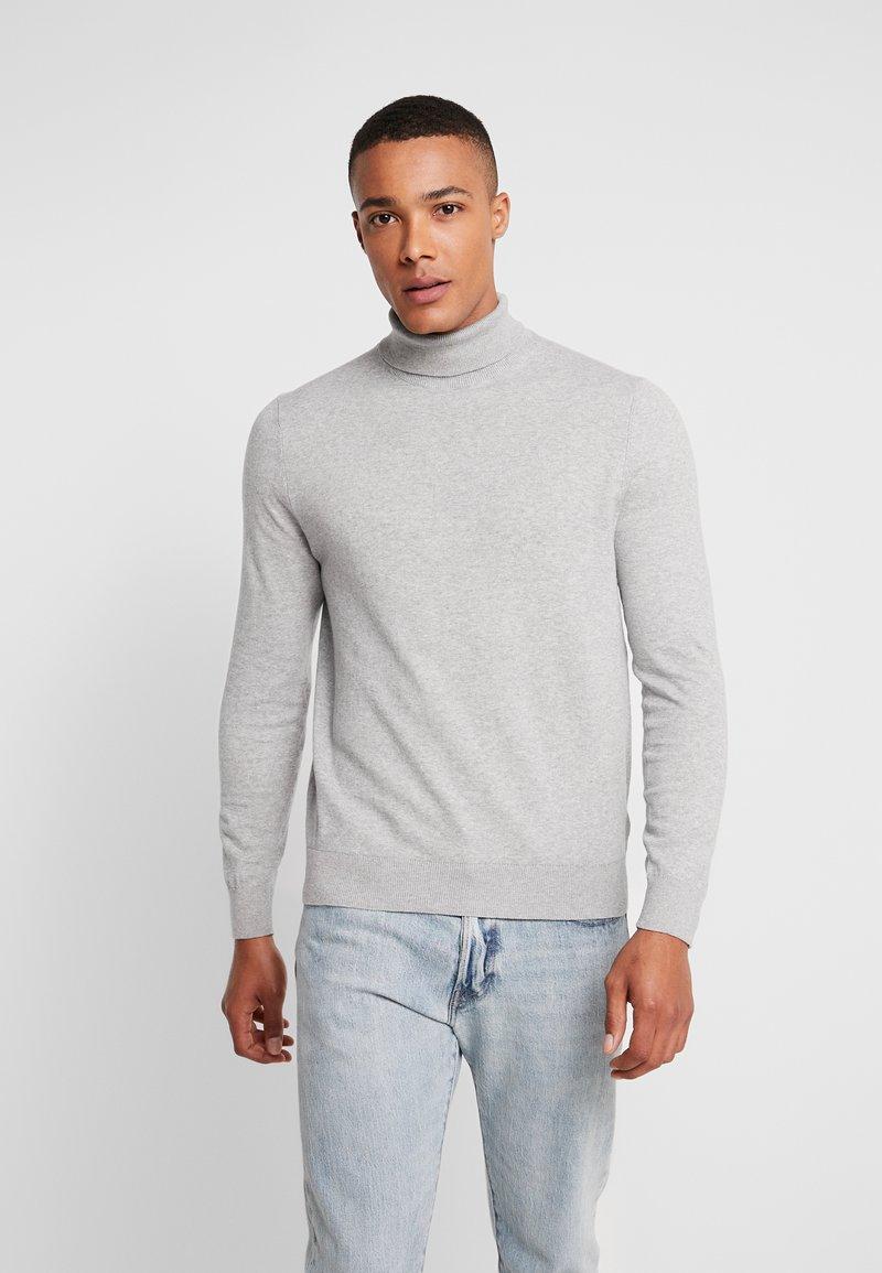 Burton Menswear London - CORE ROLL - Trui - grey
