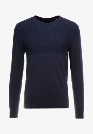 TEX CREW - Jumper - navy