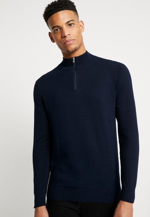 CORE HALF ZIP - Strikkegenser - navy