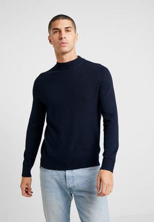 CORE TURTLE CHARCOAL - Strikkegenser - navy