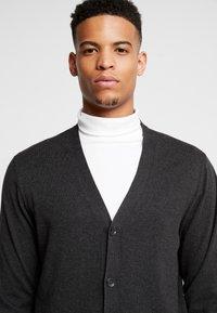 Burton Menswear London - CORE CARDIGAN - Kardigan - dark grey - 3