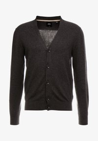 Burton Menswear London - CORE CARDIGAN - Kardigan - dark grey - 4
