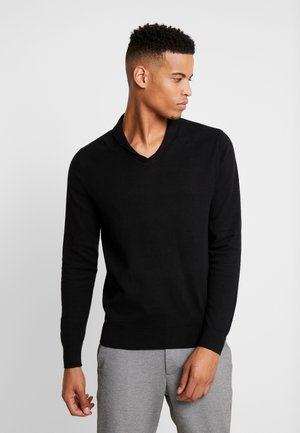 CORE SHAWL  - Pullover - black