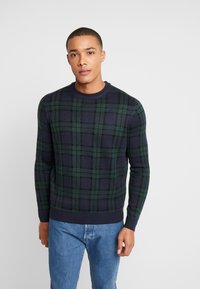 Burton Menswear London - NOAH  - Sweter - navy - 0