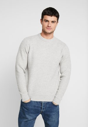 HUBURT CREW SILVER - Sweter - grey
