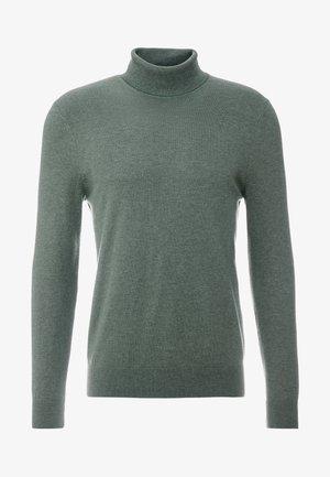 CORE ROLL SEA - Stickad tröja - green