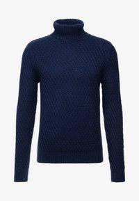 Burton Menswear London - KEGAN ROLL NAVY - Jumper - navy - 3