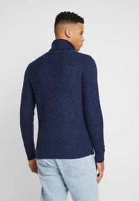 Burton Menswear London - KEGAN ROLL NAVY - Jumper - navy - 2