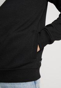 Burton Menswear London - CHEVRON SHIELD HOOD - Mikina na zip - black - 4