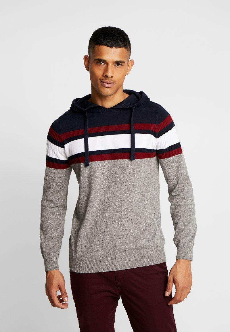 Burton Menswear London - COLBROOK CHOODY - Huppari - grey