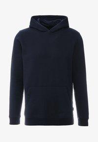 Burton Menswear London - SOLID HOOD - Felpa con cappuccio - navy - 4