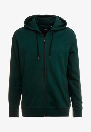 SCARAB SOLID HOOD - veste en sweat zippée - green