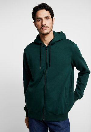 SCARAB SOLID HOOD - Zip-up hoodie - green