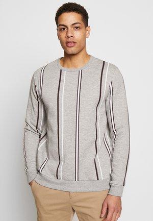 STRIPE - Sweatshirt - grey