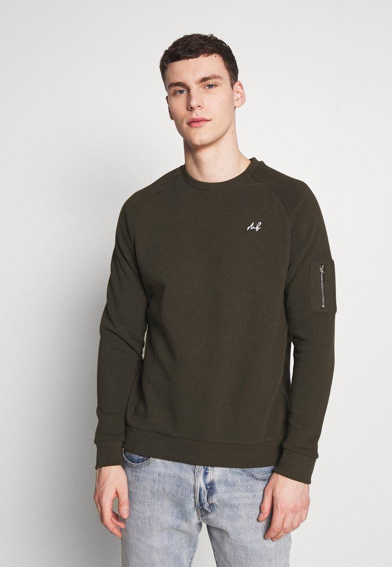 Burton Menswear London - COLLECTION UTILITY CREW - Mikina - khaki