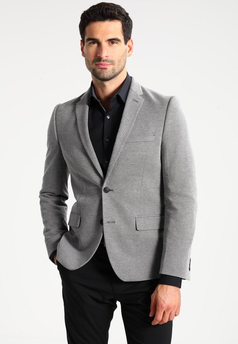 Burton Menswear London - Sako - grey