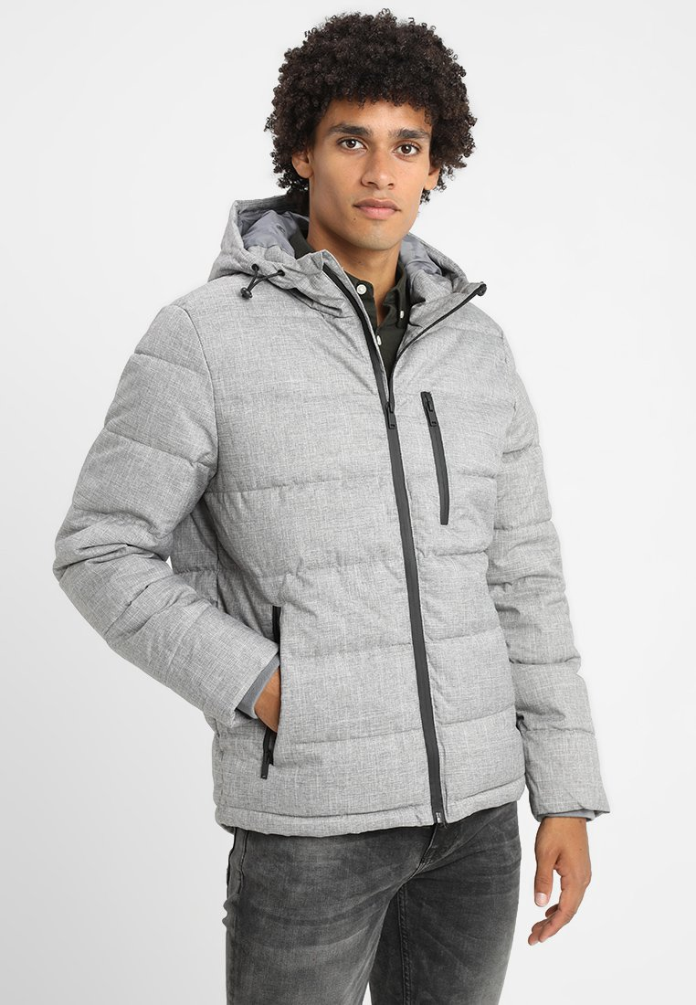 Burton Menswear London - ASPEN PUFFER - Übergangsjacke - light grey