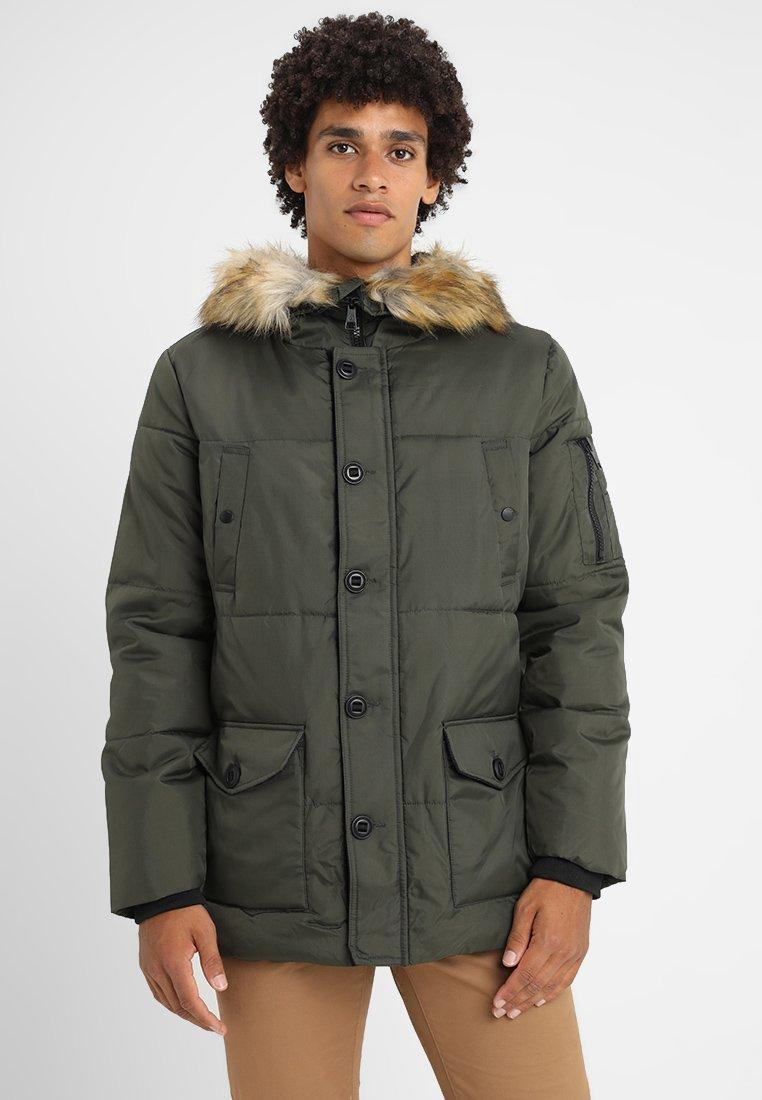 Burton Menswear London - Winterjas - khaki