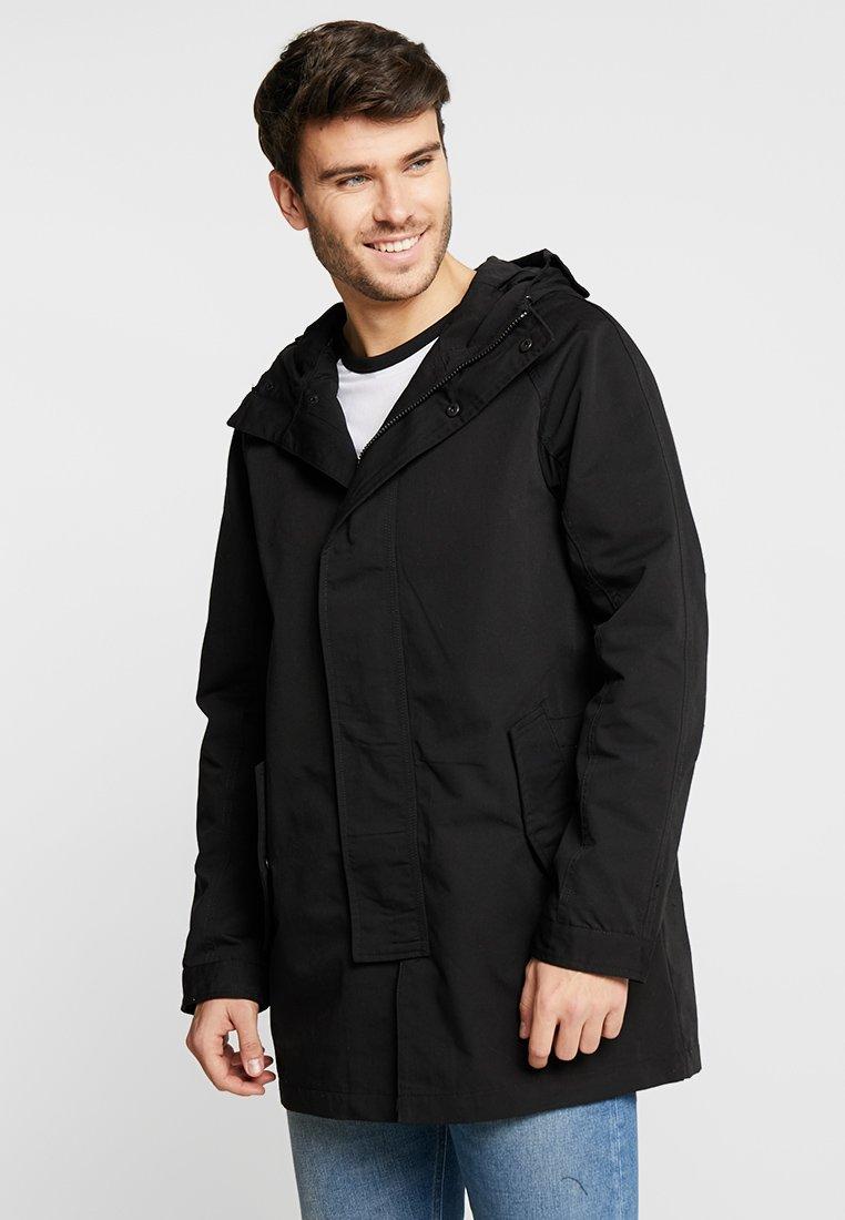 Burton Menswear London - UNDERGROUND - Parka - black