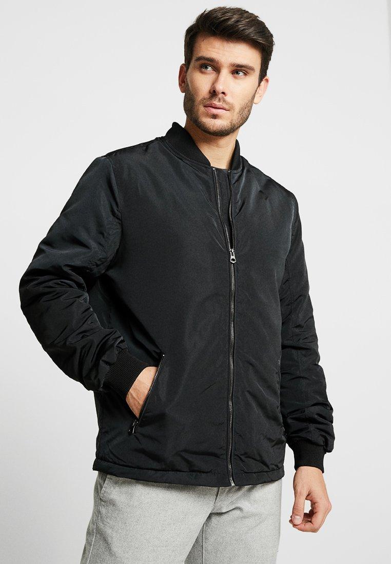 Burton Menswear London - PADDED BOMBER - Bomber Jacket - black