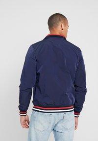 Burton Menswear London - ZIP HARRINGTON - Korte jassen - navy - 2