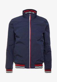 Burton Menswear London - ZIP HARRINGTON - Korte jassen - navy - 4